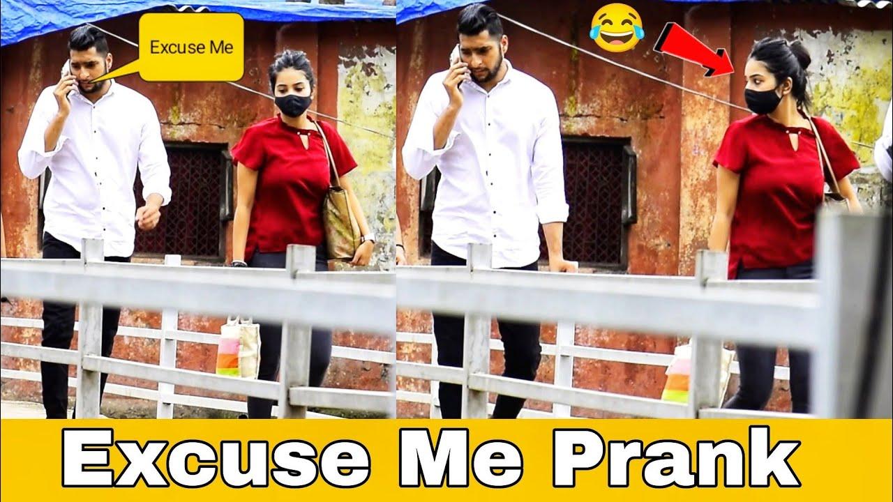 Excuse Me Prank On Girls | Escuse Me Prank | Prakash Peswani Prank |