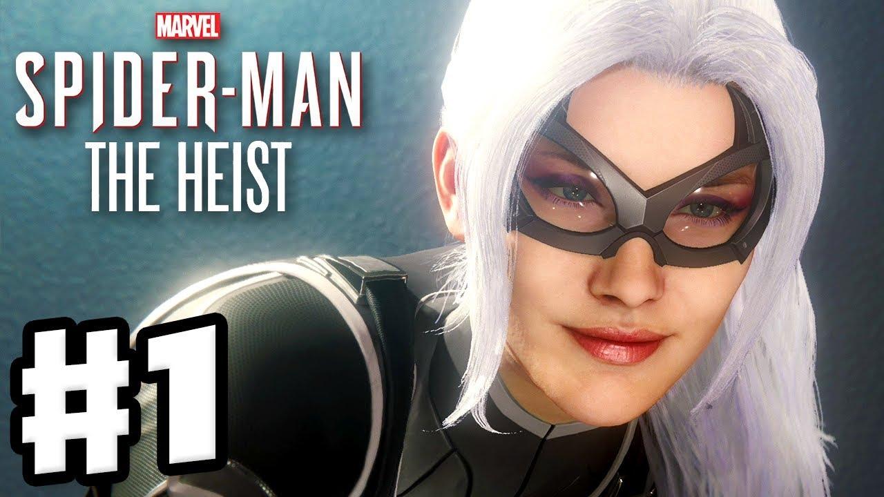Download Spider-Man - PS4 The Heist DLC - Gameplay Walkthrough Part 1 - Black Cat and All Stolen Art!