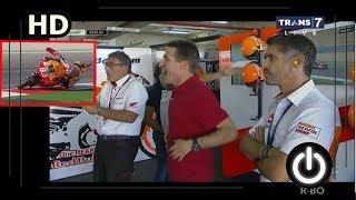 Marquez Luar Biasa, Hampir Jatuh Ini Reaksi Ayahnya MotoGP Aragon 2017