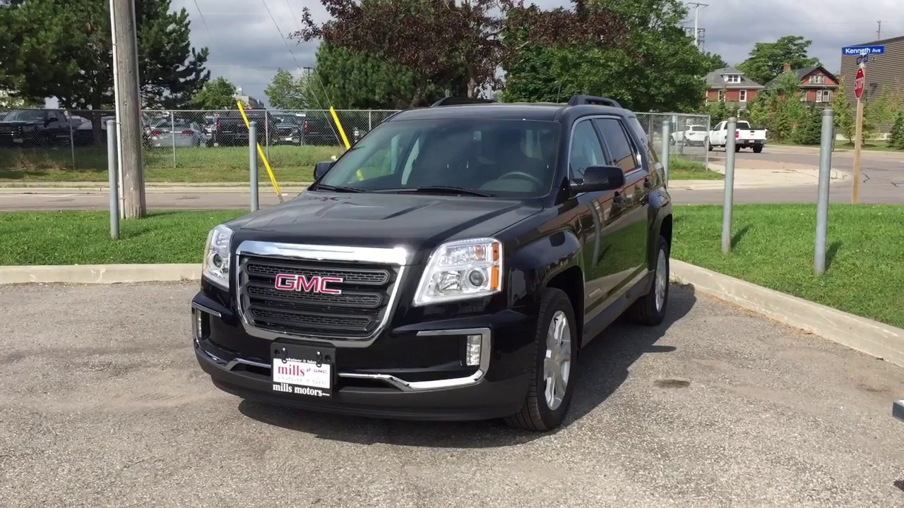 2017 gmc terrain sle 2 awd park assist lane departure warning black oshawa on stock 171706. Black Bedroom Furniture Sets. Home Design Ideas
