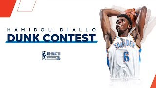 Hamidou Diallo's Full 2019 NBA All-Star Slam Dunk Contest Coverage | 2018-19 NBA Season