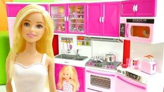 Barbienin mutfağı. Seçkin bölümler. Eğitici video