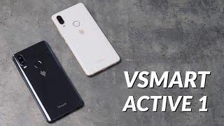 Trên tay Vsmart Active 1, giá 4tr99: thiết kế đẹp, Snapdragon 660,  camera kép