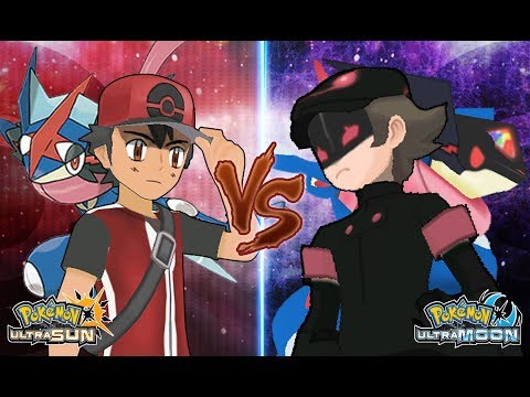 Pokemon Ultra Sun and Ultra Moon: Champion Ash Vs Dark Hero