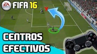 FIFA 16 | CENTROS EFECTIVOS | La clave que desconocias | TUTORIAL