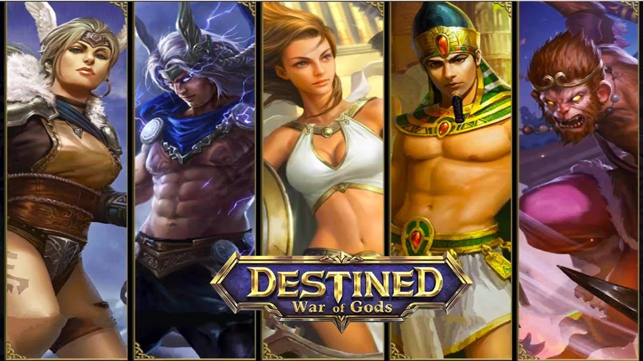 War of Gods : DESTINED Android Gameplay u1d34u1d30