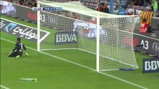 1 тур Барселона 5 : 1 Реал Сосьедад 19.08.2012