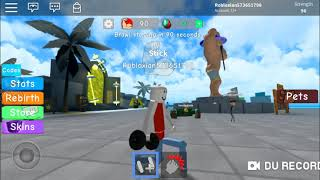New series of ROBLOX Simuleitor lifting weights
