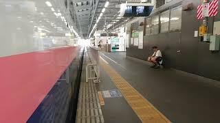 JR新潟駅 上越新幹線 E4系 MAXとき 東京行き 発車ベル 乗降終了合図