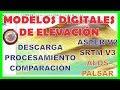 MODELOS DIGITALES DE ELEVACION - ASTER, SRTM, ALOS PALSAR
