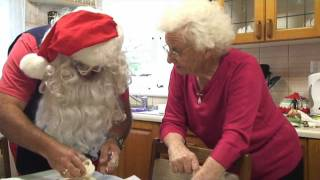 Christmas At The Academy 2011 - Santa Bakes Scones With The Country Women's Association