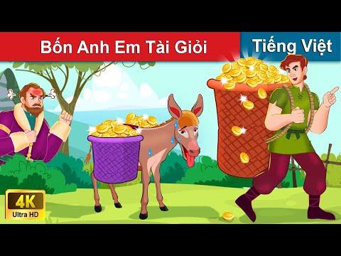 Bốn Anh Em Tài Giỏi 👨👨👦👦 Chuyen co tich | Truyện Cổ Tích Việt Nam | WOA Fairy Tales