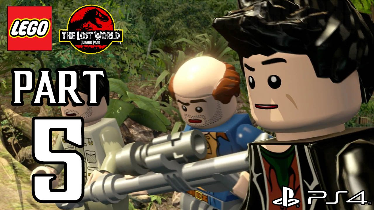Lego Jurassic World Walkthrough Part 5 Ps4 Gameplay No Commentary Commentary1080p True Hd Quality Youtube
