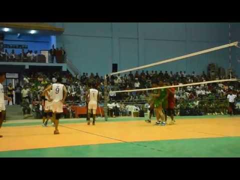 Volleyball Match Nepal Vs Bangaladesh.GorakhbhumiNews.com