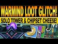 Destiny 2 | NEW WARMIND LOOT GLITCH! How To Get CHIPSETS & SOLO TOWER Cheese! (Season Of The Worthy)