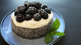 3 Minute NO-BAKE Cake + No-Make Frosting