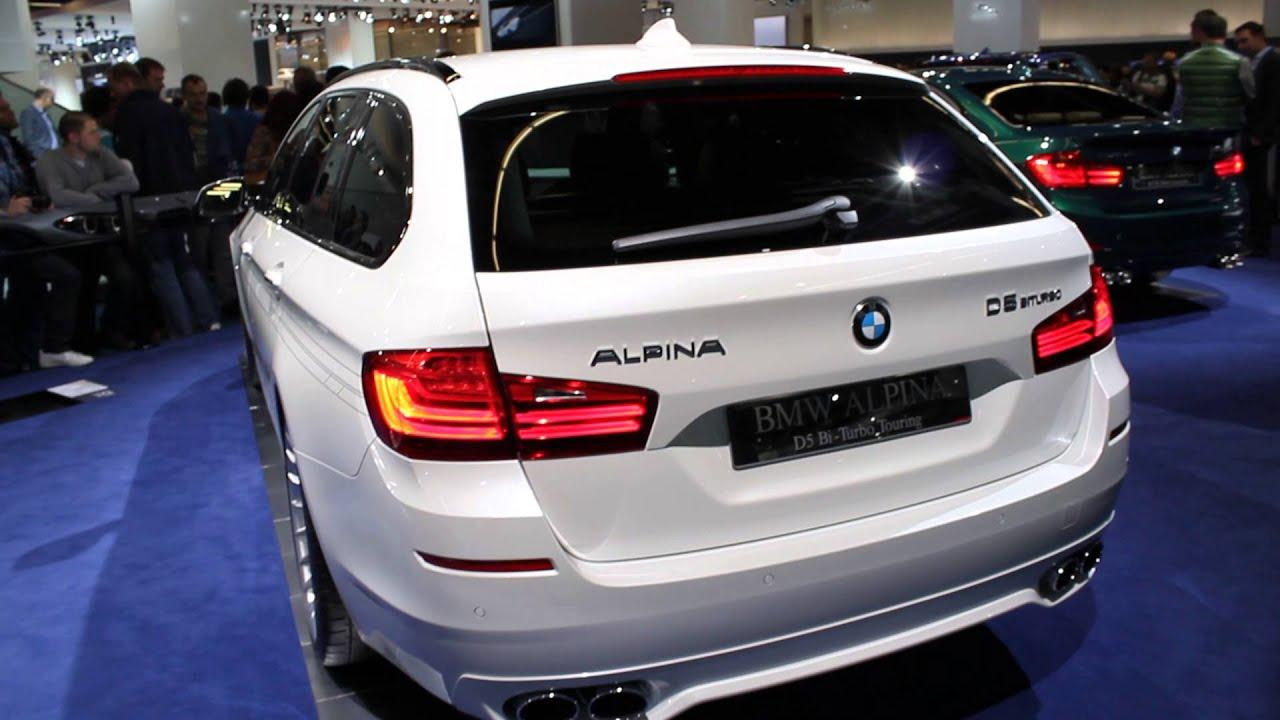 ALPINA BMW D5 BiTurbo Touring at IAA Frankfurt 2013 - YouTube