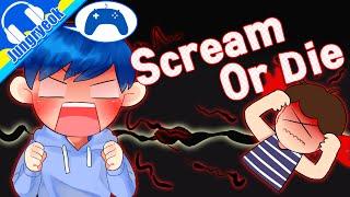 [중력유튜브] 목소리로 고막터트리는게임! '스크림 올 다이' (음성 인식 게임 ScreamOrDie)