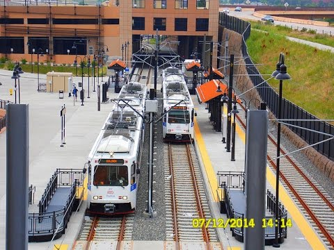 🚊/💺 Denver RTD: W - Line (Light Rail) to Golden    FULL RIDE!