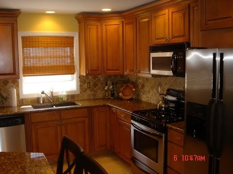Kitchen Color Ideas with Oak Cabinets  YouTube
