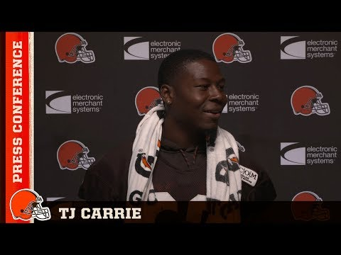 TJ Carrie on Corey Coleman: It's always good when iron sharpens iron   Browns Press Conference