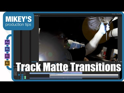 After Effects to Premiere Pro: Track Matte Transitions
