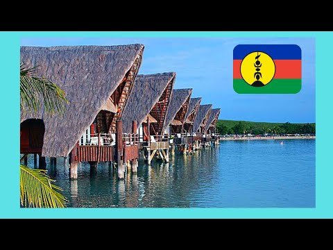 NOUMEA, stunning KUENDU BEACH and bungalows on stilts (NEW CALEDONIA)