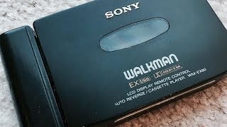 Vintage Sony WM-EX80 Walkman cassette player, Super Clean !!! Working Great !!!