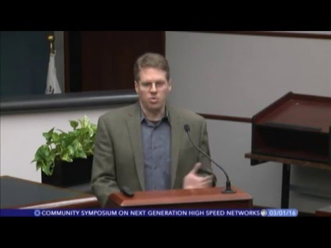 Bloomington Indiana Next Generation High Speed Networks Symposium -- Rick Dietz Introduction
