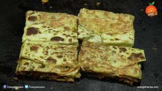 Ceylon Chicken Paratha Recipe - Orange Foods