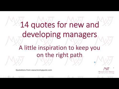 Quotes About Management And Leadership