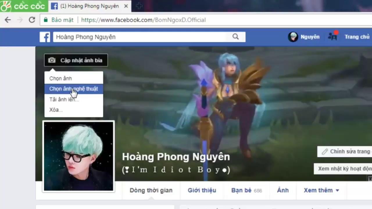 Hướng Dẫn Làm ẢNH Bìa Facebook Video (BY Hoàng P Nguyên . Ng CảNH Xu)