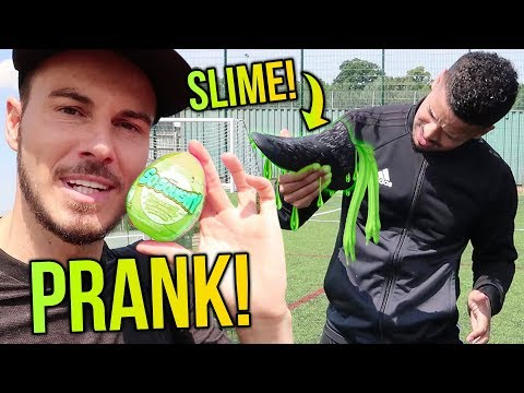 I PUT SLIME IN JEREMY LYNCH'S BOOT! F2 PRANK WARS!