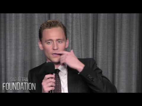 Tom Hiddleston making differents accents [SAG-AFTRA 2016]
