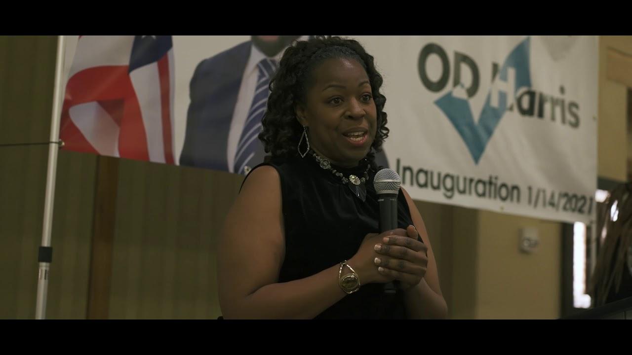 OD Harris Inauguration January 14, 2021