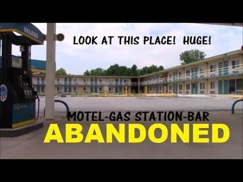 Abandoned Valero Gas Station & Motel - Lima Ohio