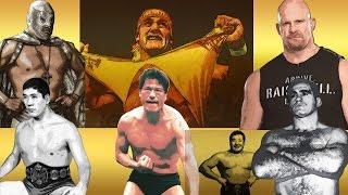偉大なプロレスラーランキング - Top 10 Pro Wrestlers of All Time - 【Rankin Tube】