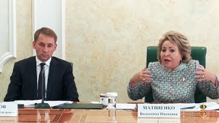 Вопросы развития Дальнего Востока и Арктики обсудили в Совете Федерации