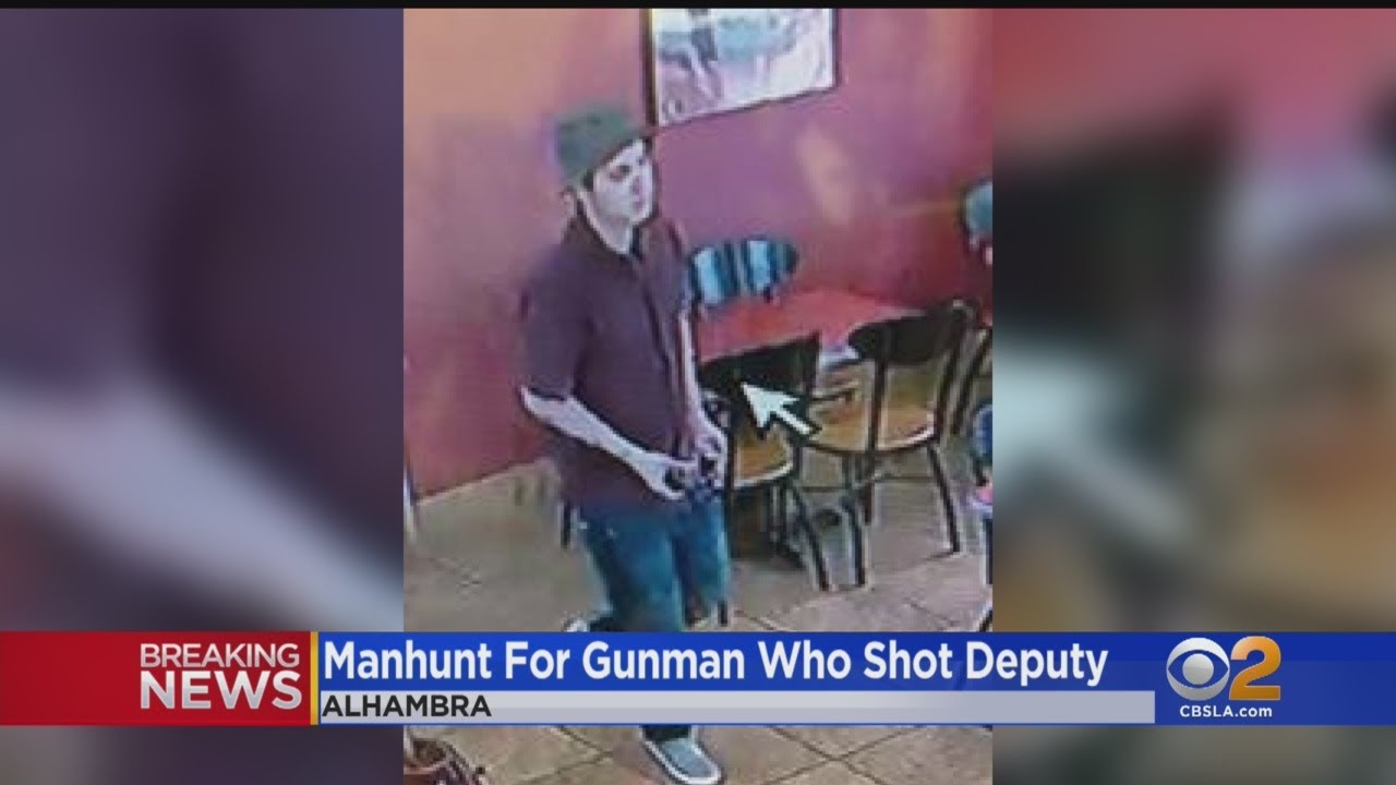 Police Release Photos Of Gunman Suspected Of Shooting Off-Duty Deputy  Inside Jack In The Box