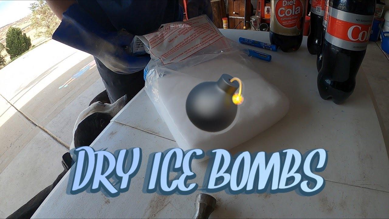 DRY ICE BOMBS! | NJTS