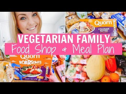 VEGETARIAN FAMILY FOOD SHOP & MEAT FREE MEAL PLAN | Alex Gladwin