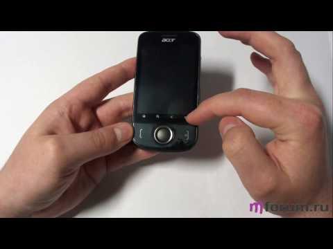 Обзор Acer E110 - Клавиши и разъемы