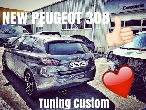 project tuning new peugeot 308 1 6 e hdi custom youtube. Black Bedroom Furniture Sets. Home Design Ideas