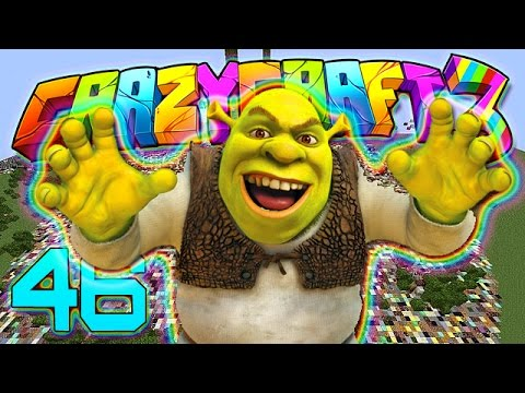 Minecraft Crazy Craft 30 Fun With Mobzilla Shrek