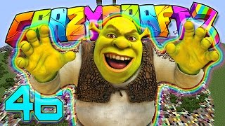 Minecraft Crazy Craft 3.0: FUN WITH MOBZILLA & SHREK! Pandora