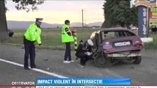 Accident rutier, produs pe un drum din judeţul Suceava