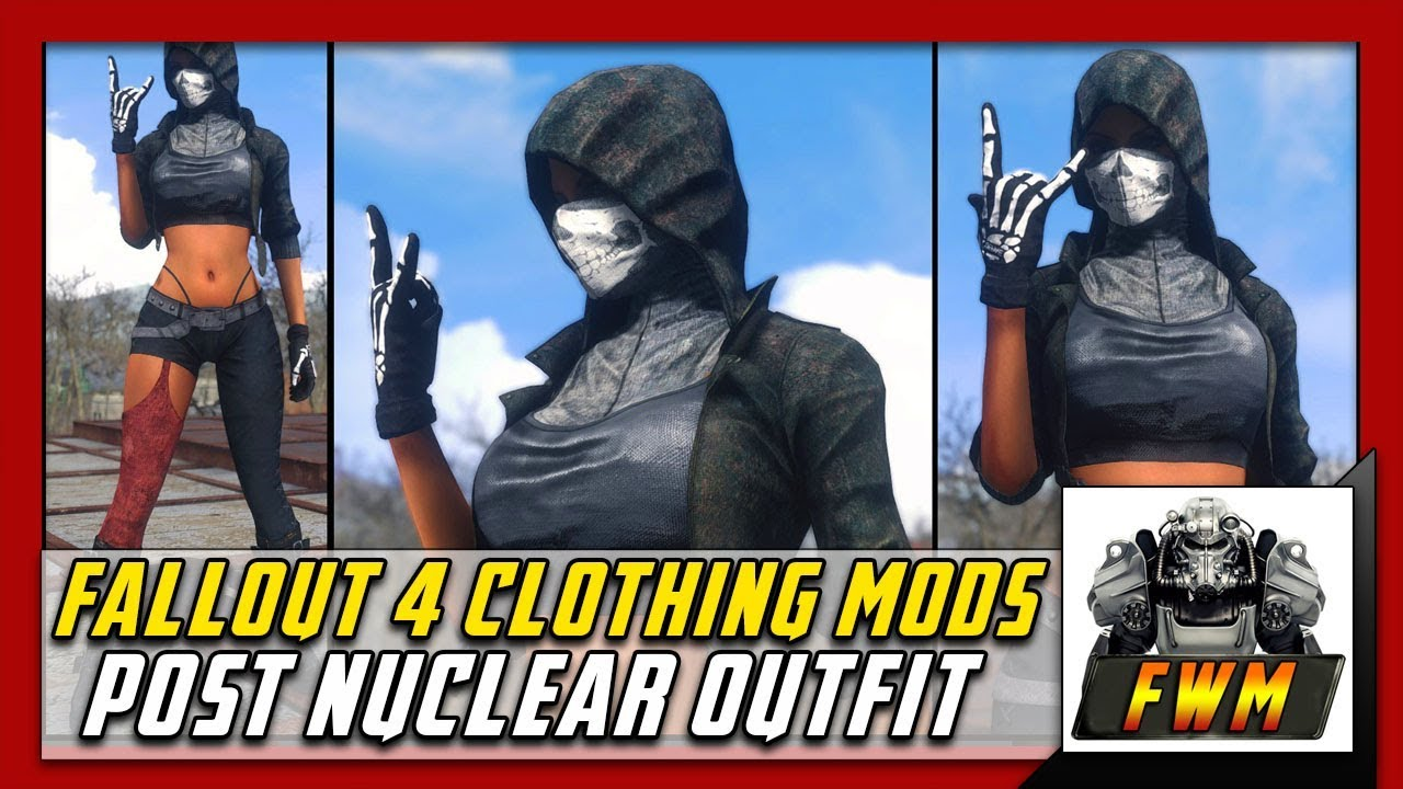 Fallout 4 Clothing Mods Post Nuclear Outfit