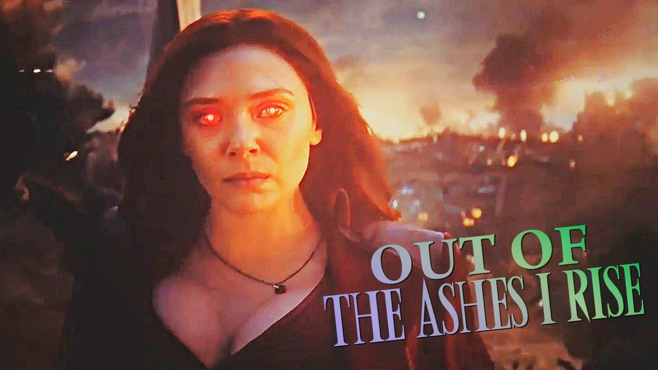 Out of the ashes wanda maximoff scarlet witch - Scarlet witch boobs ...