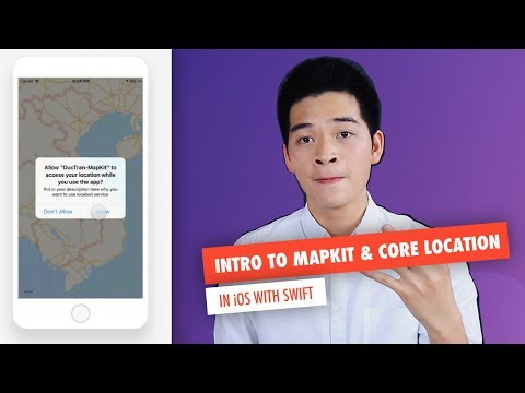 Introduction to MapKit, MKMapView, Core Location and Annotation | Parse JSON with SwiftyJSON
