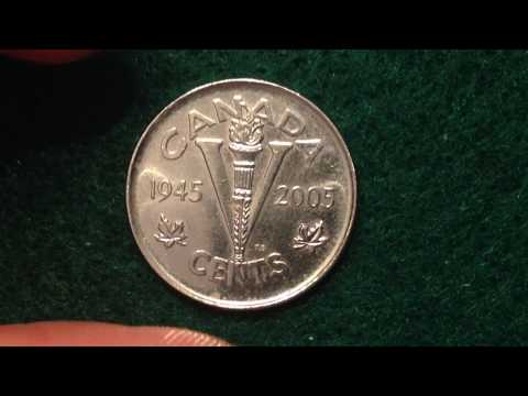 Canada 5 Cents Coin - Victory In Europe 1945 - 2005